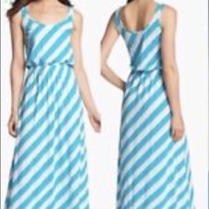 Lilly Pulitzer Sz S Tria Nautical Maxi Dress